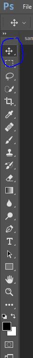 Screenshot of Photo editing options