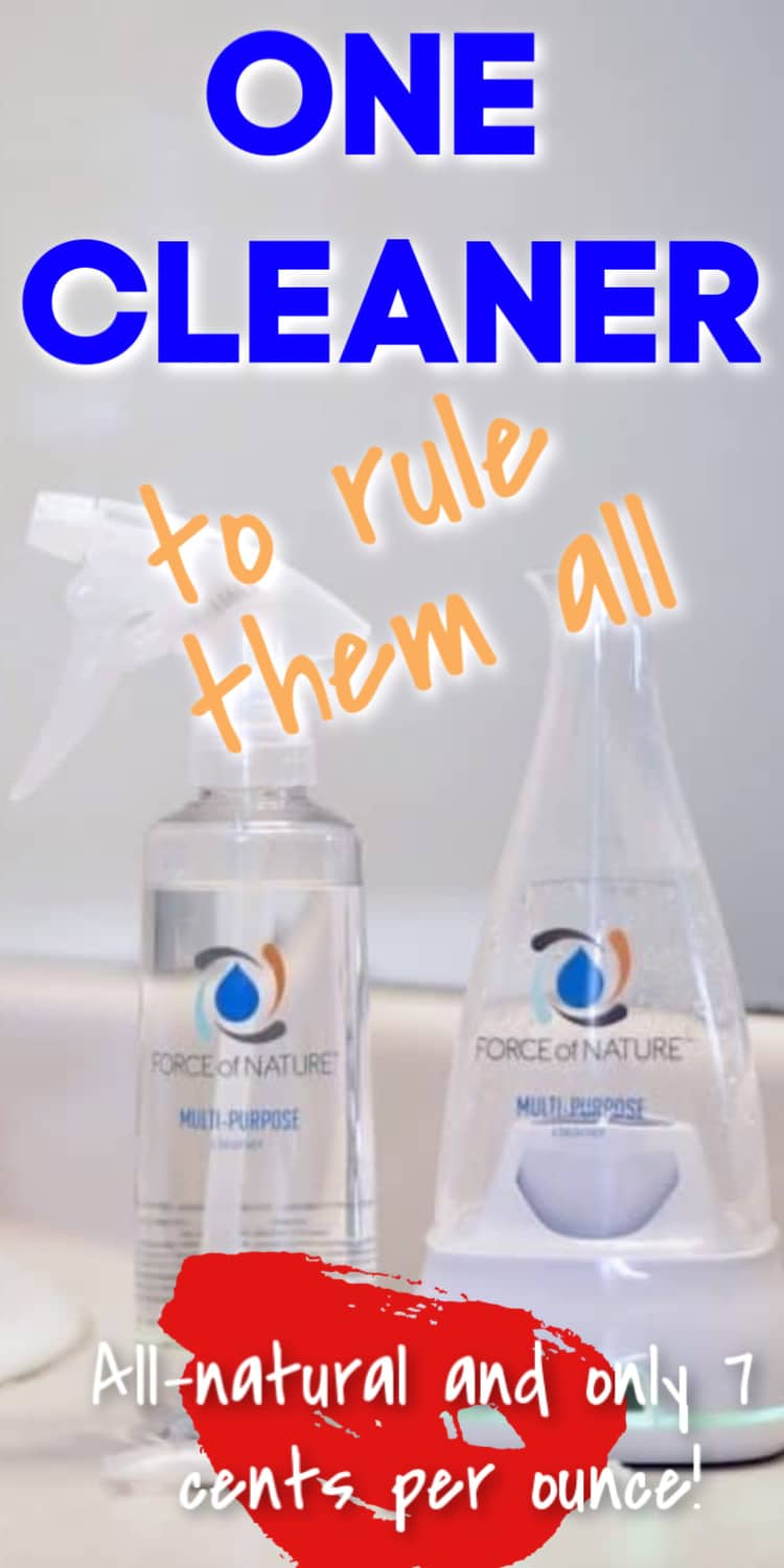 This all-natural cleaner is so safe you can use it in a pacifier and your dirty microwave - and it will disinfect it! Plus, it's extremely affordable - if you are looking for a budget friendly cleaner, this is the one for you. via @clarkscondensed