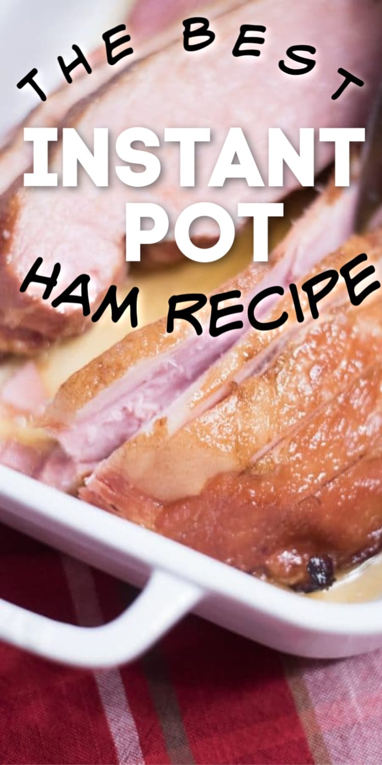 The best instant pot ham recipe - this is made with a master carve ham and is absolutely DELICIOUS! via @clarkscondensed