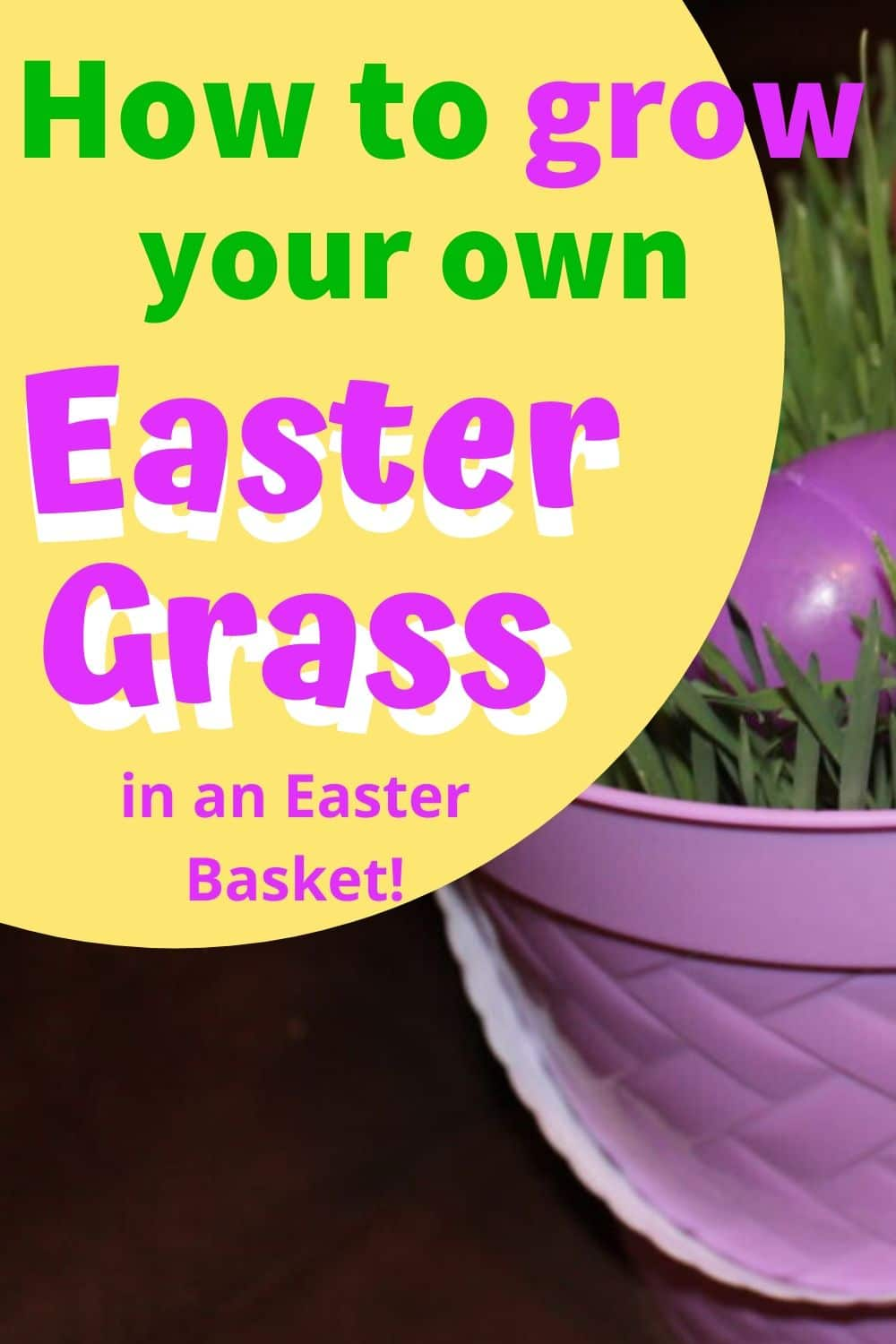 Easter Basket / Dollar Tree Easter Project / easter ideas / easter decorations / easter basket ideas / Easter & spring / easter for kids via @clarkscondensed