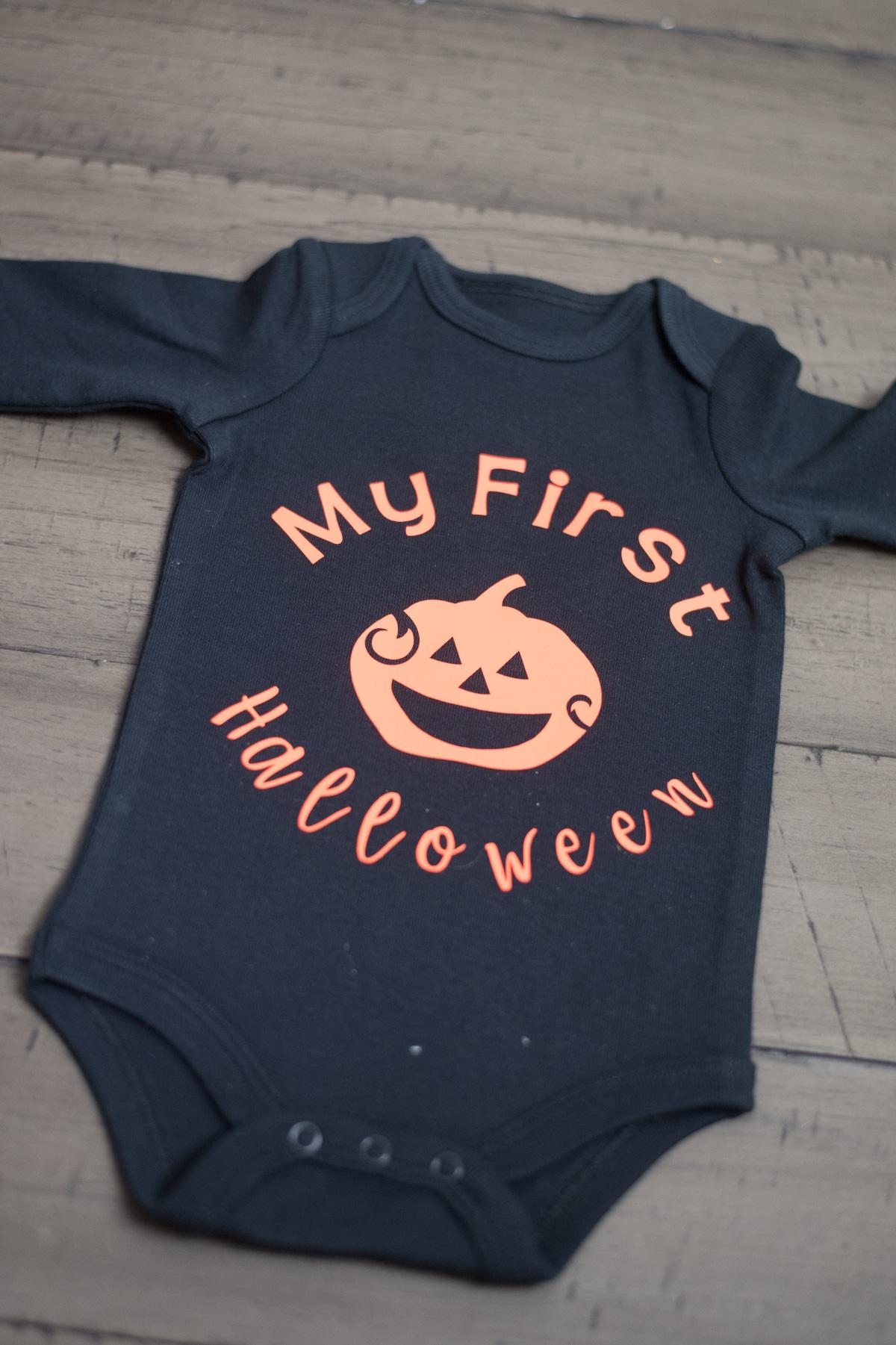 Baby's First Halloween Onesie