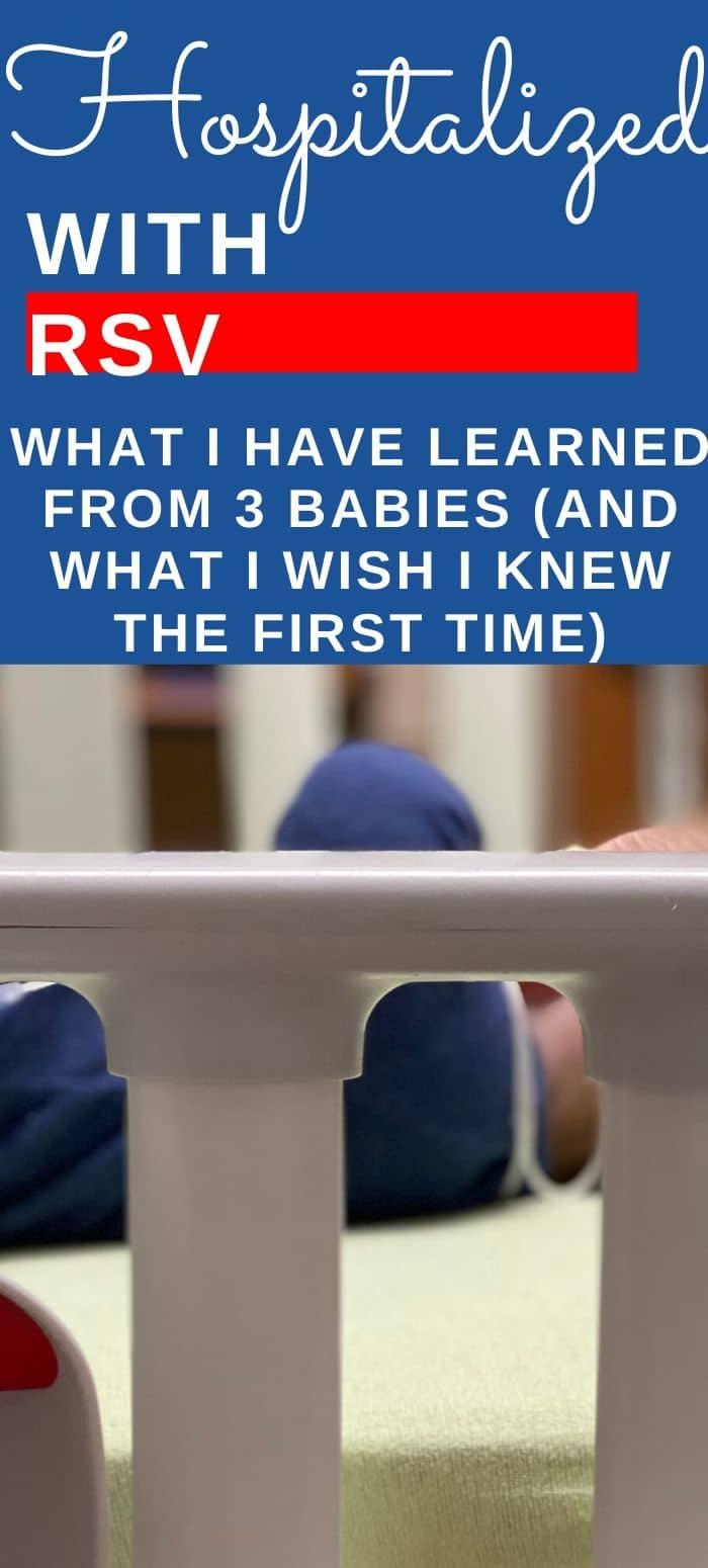 RSV Hospitalization - What I wish I had known #babies #rsv via @clarkscondensed
