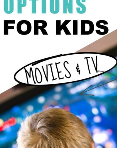 Image as a cover for Movies and TV show ideas for kids