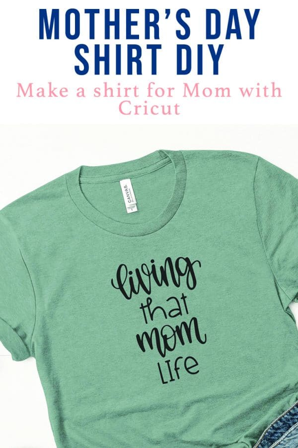 Easy DIY shirt for MOther's Day or just to celebrate Moms! via @clarkscondensed