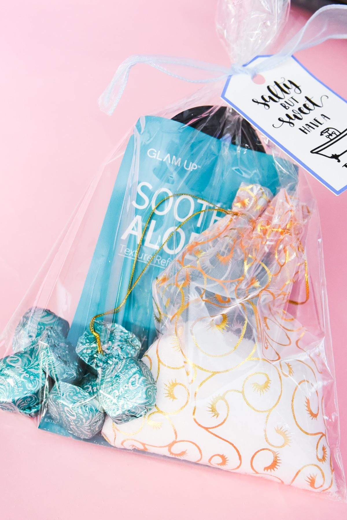 spa kit with treats