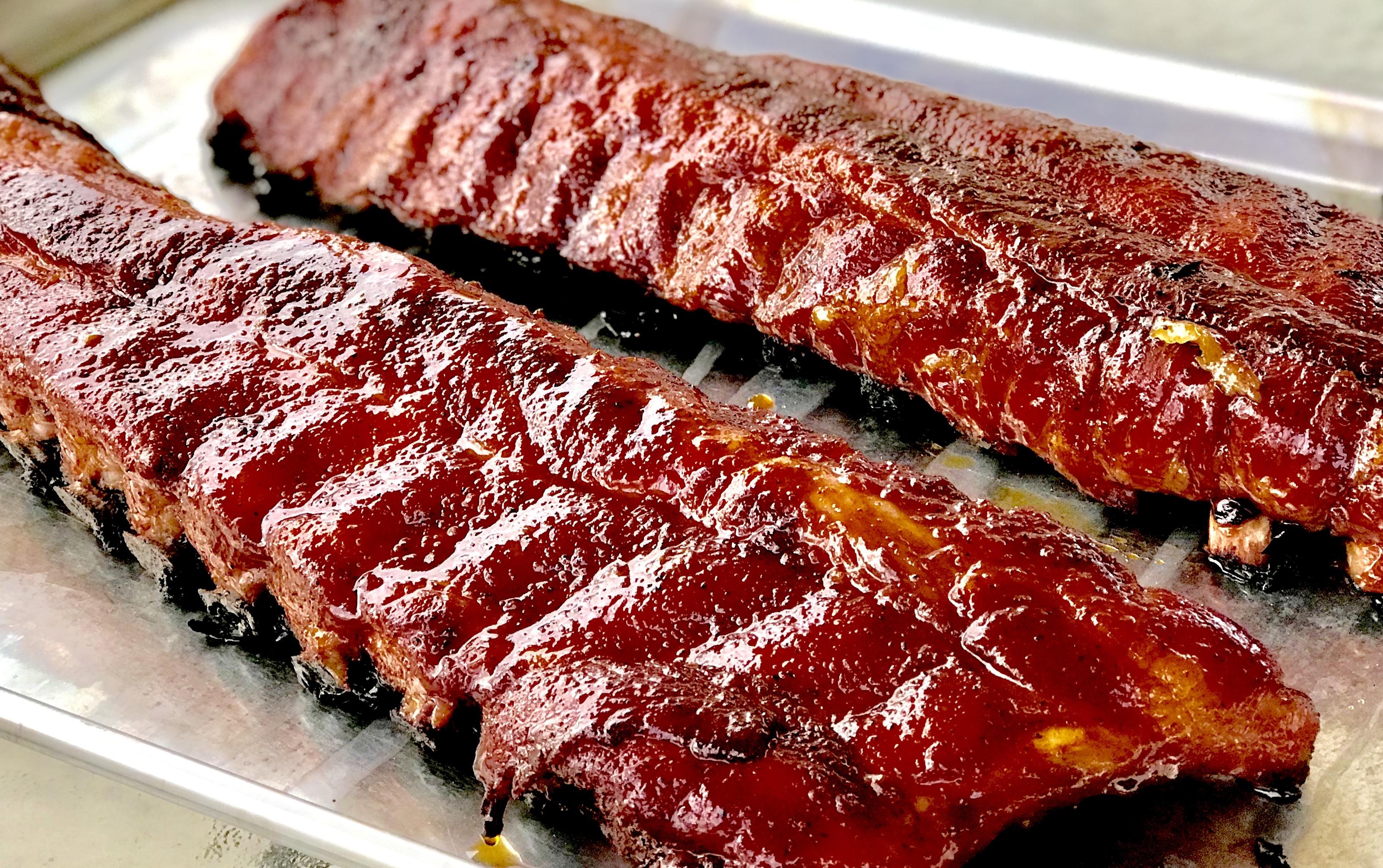 traeger smoked ribs