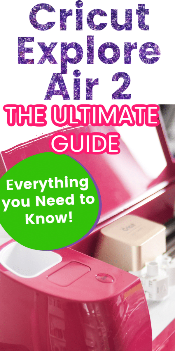 The Cricut Explore Air 2 is an amazing machine that is the perfect cutting machine for beginners and advanced crafters. In this post, we will share everything you need to get started, including project ideas, tutorials, and must-have accessories! #cricut #cricutexploreair2 #cricutprojects #cricutideas via @clarkscondensed