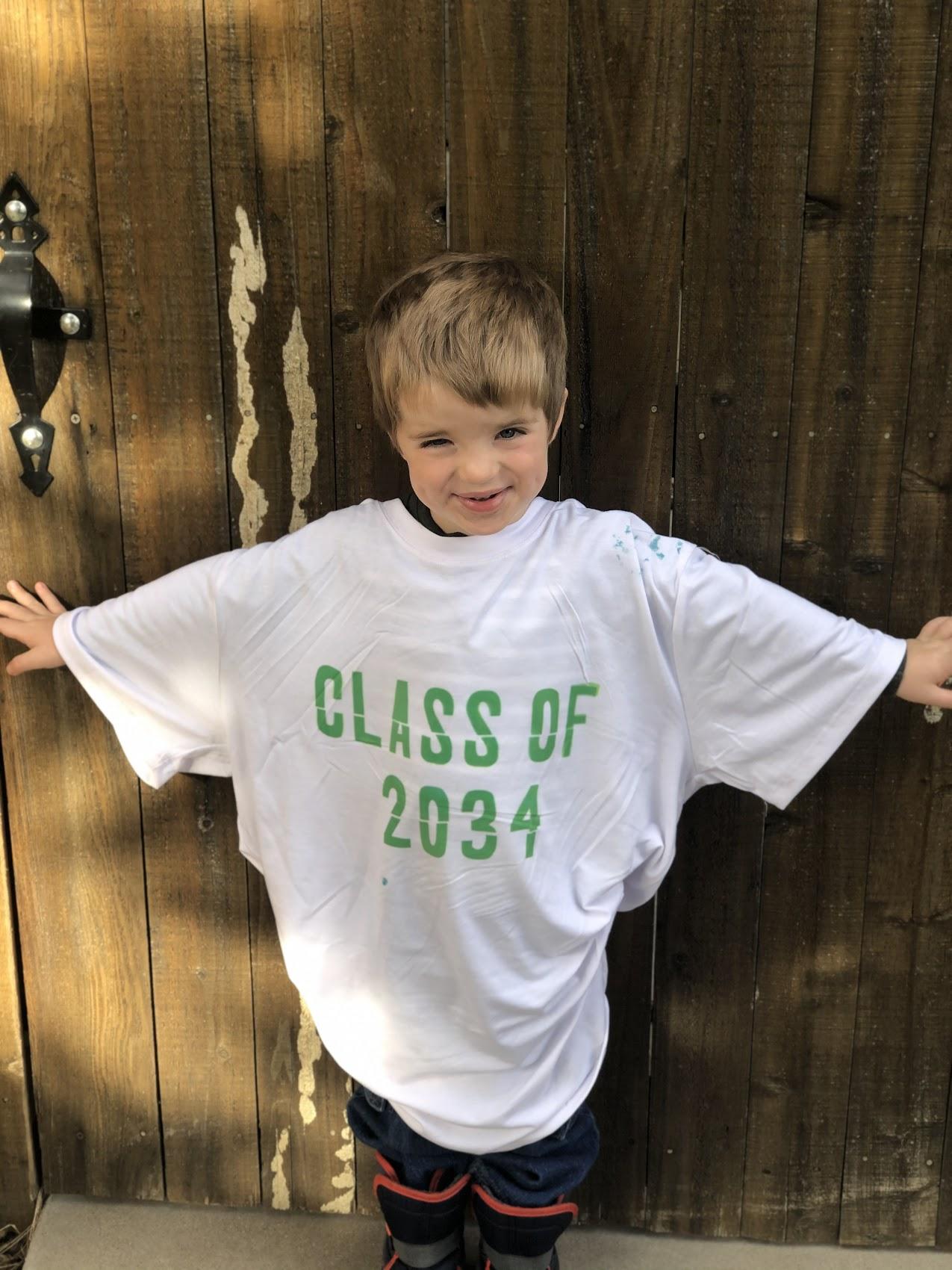 class of 2034 shirt