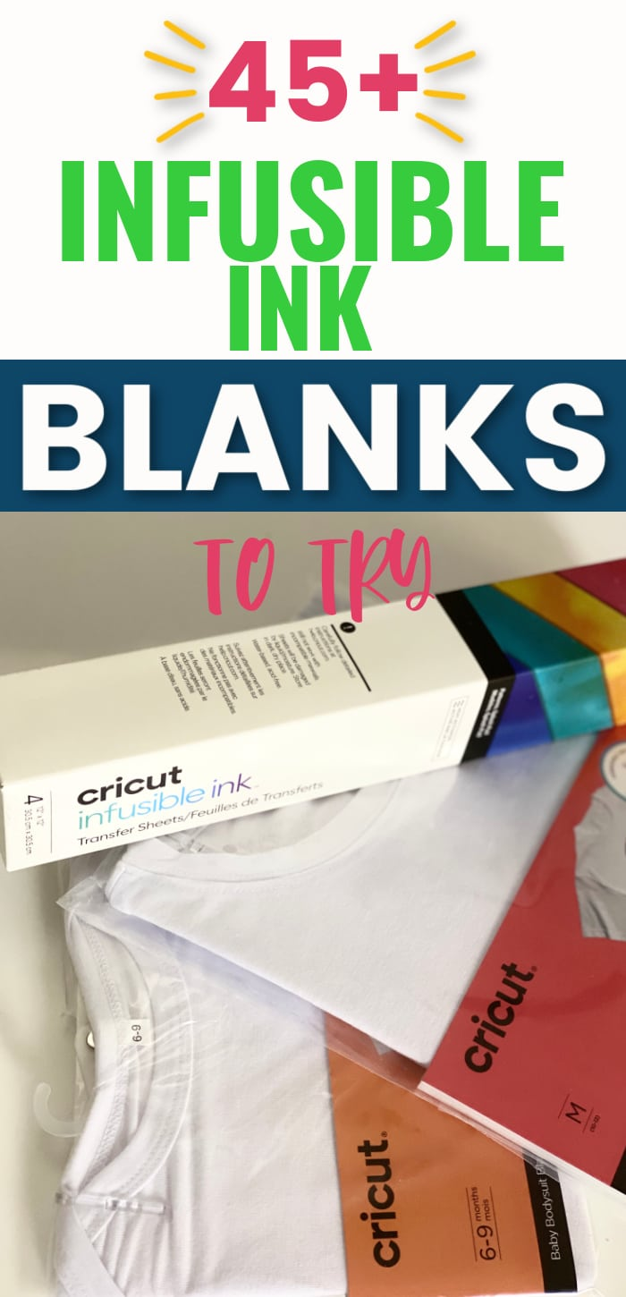 If you love Infusible Ink, you are going to love all of these Infusible Ink blanks that you can try out with your projects! Lots of great Cricut inspiration! via @clarkscondensed