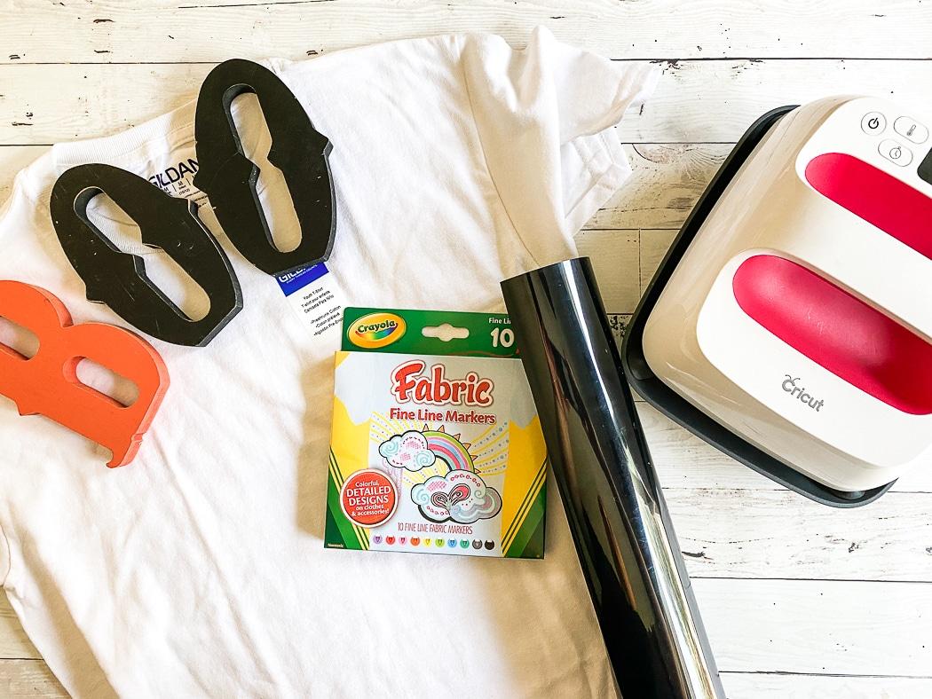 Fabric Markers Cricut EasyPress 2 HTV