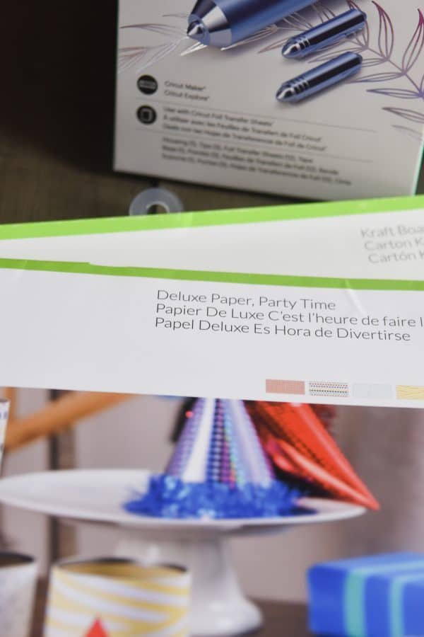 deluxe paper: party time