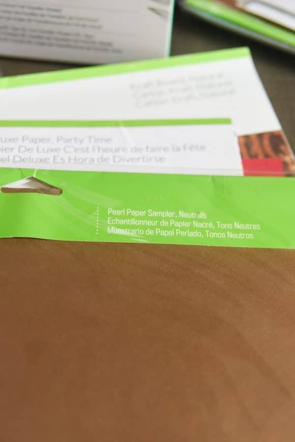 pearl paper sampler