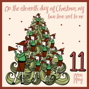 eleventh day of christmas ideas