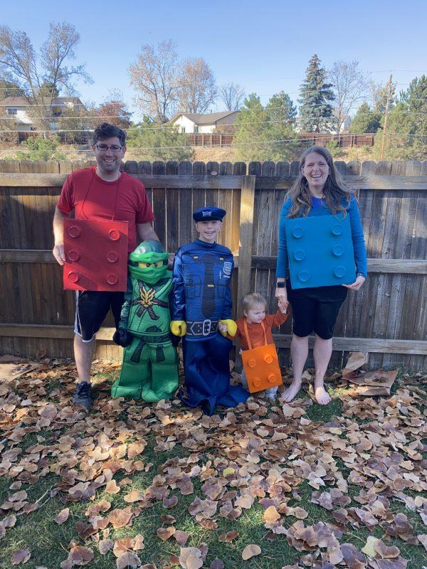 LEGO Family Costumes