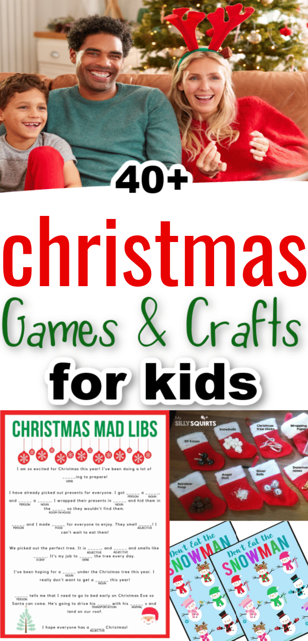 Christmas is such a fun time of year! It is the perfect time to throw a party! Whether you are hosting a party for your kids at home or helping plan a Christmas class party – we've got all the ideas you need with these Christmas games and activities for kids. via @clarkscondensed