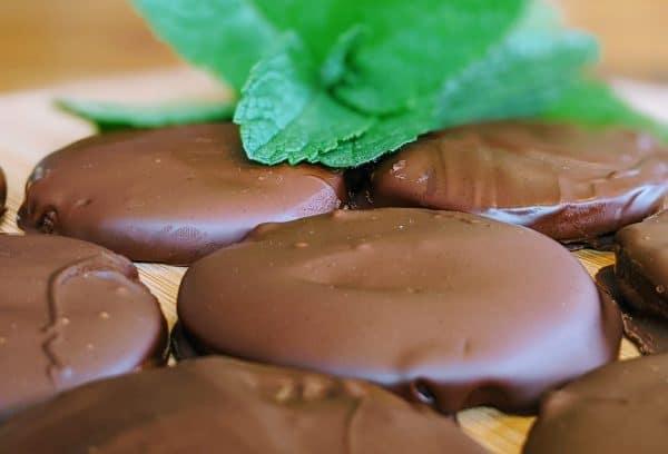 homemade thin mints
