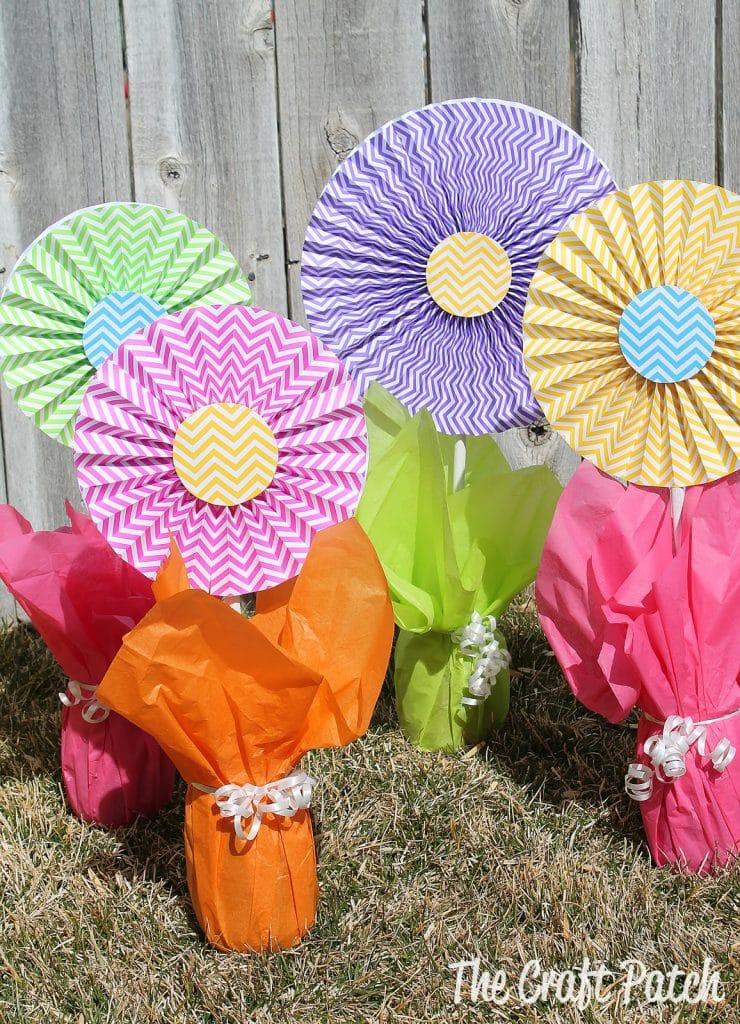 dollar tree flower centerpieces