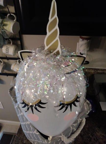 dollar tree balloon unicorn