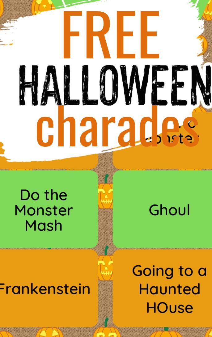 "<span itemprop=""name"">Halloween Charades</span> via @clarkscondensed"