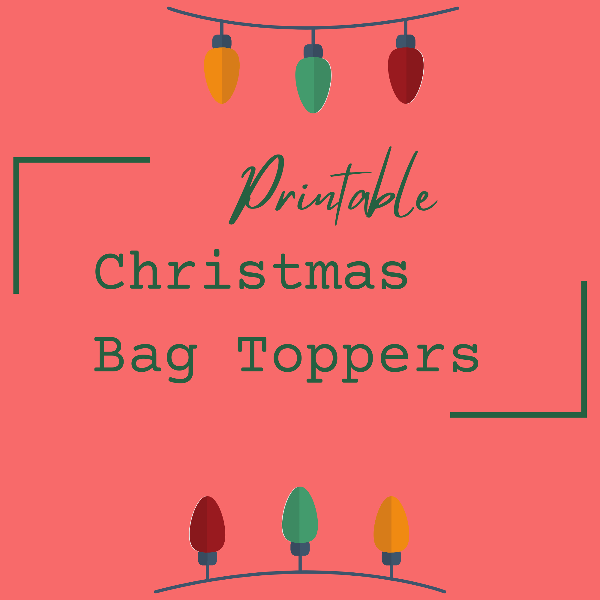 "<span itemprop=""name"">Cute Printable Christmas Bag Toppers</span> via @clarkscondensed"