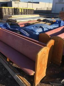 Rescued Church Pews