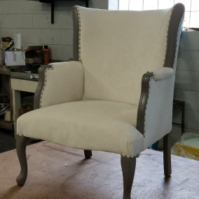 Custom Accent Chair   Commissioned