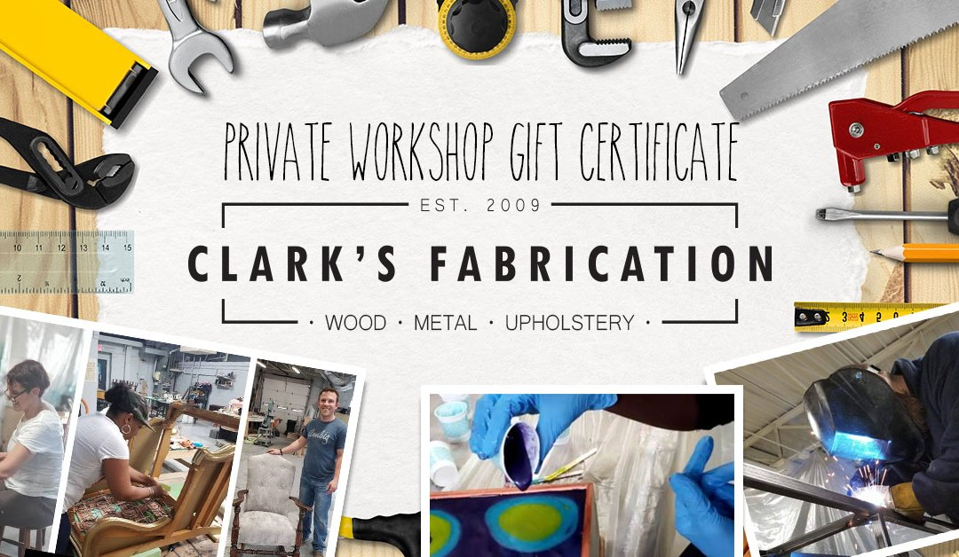 Private Workshop Gift Certificate