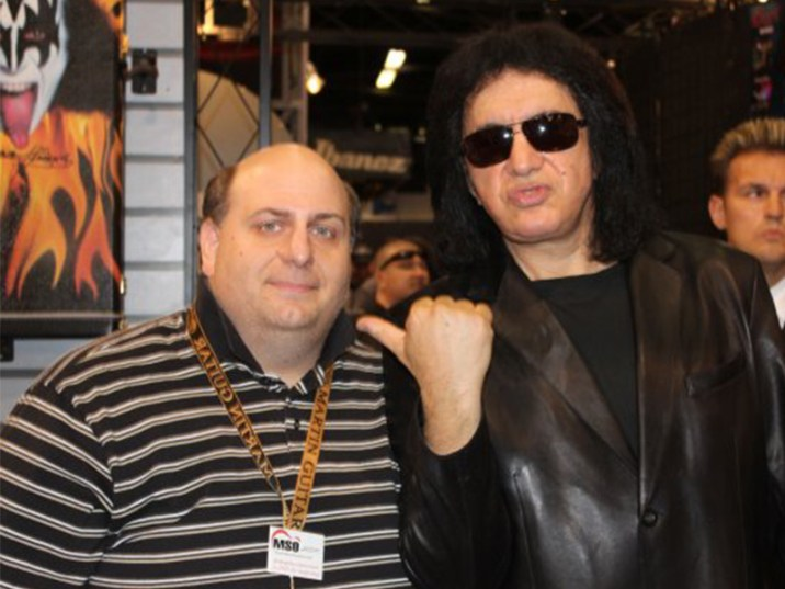 Gene Simmons with Kirkwood Family Friend Chris Basile