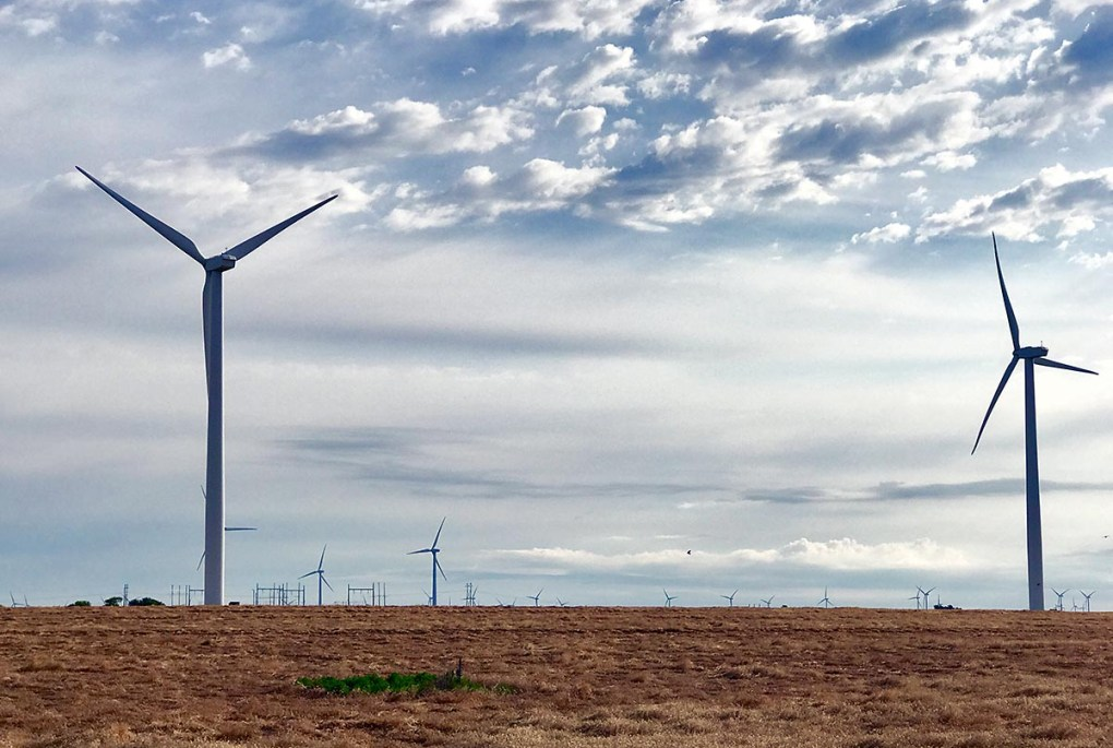Wind Farm in Kansas