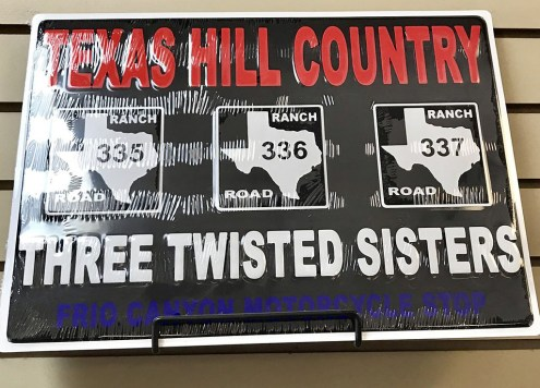 Texas Hill Country - Three Twisted Sisters