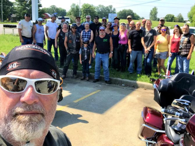 Benny J Humphrey Memorial Ride