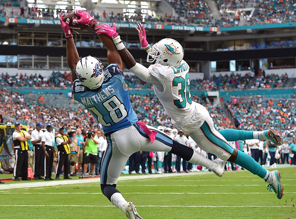 Rishard Matthews is a touchdown magnet right now