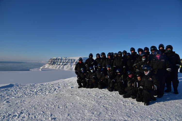 Svalbard Group Photo