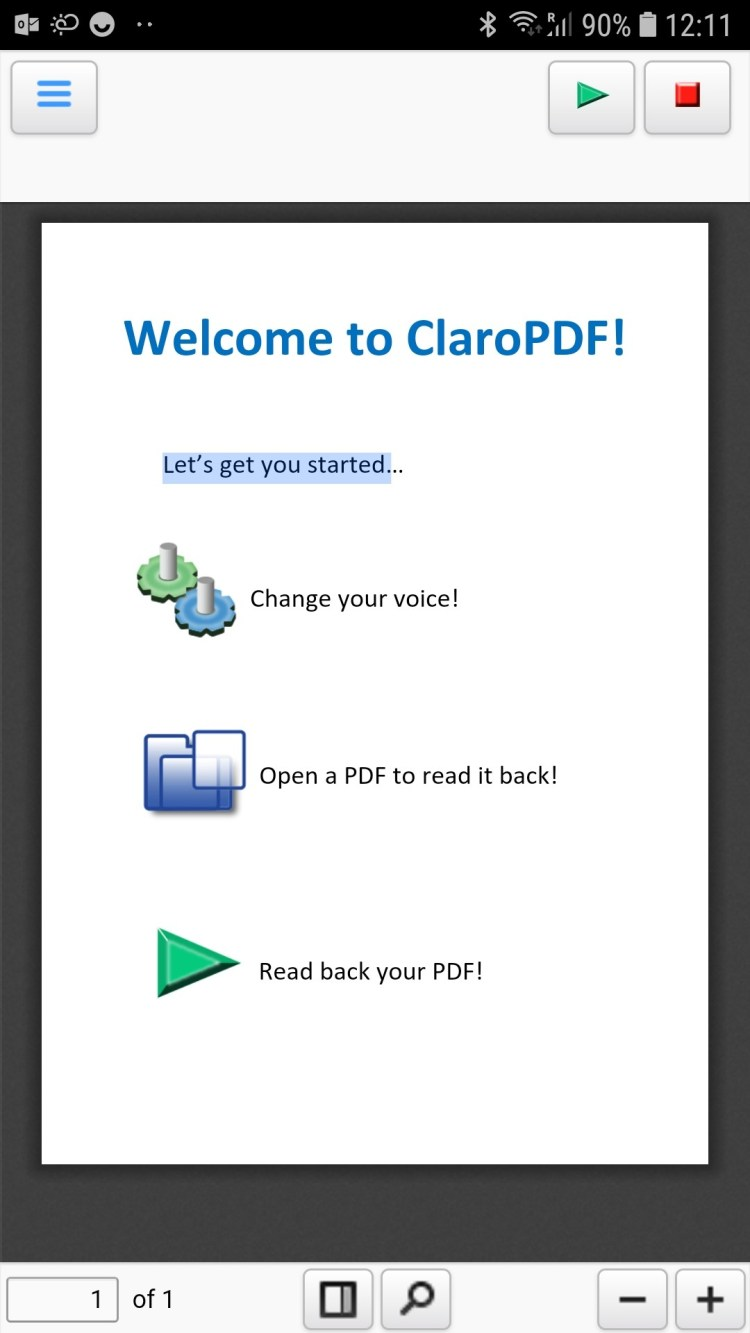 ClaroPDF for Android