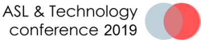 ASL and Technology Conference Logo