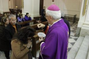 vescovo valentino di cerbo ceneri quaresima