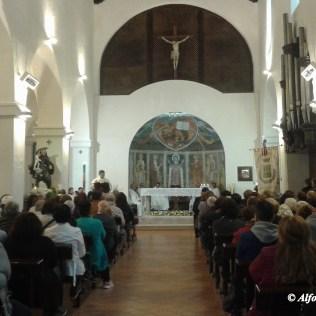 La celebrazione nel Santuario di Santa Maria Occorrevole