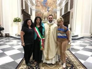 Con il sindaco di Alife, Maria Luisa Di Tommaso e i consiglieri DI Muccio e Morelli