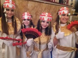 ancelle egizie