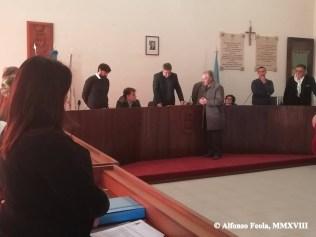 Il pubblico encomio a Pasqualino Venditti