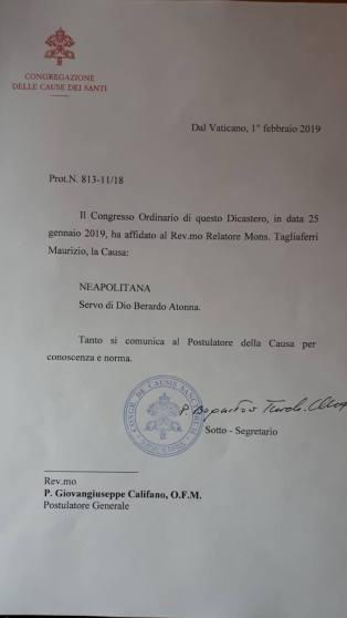 Il documento del Vaticano