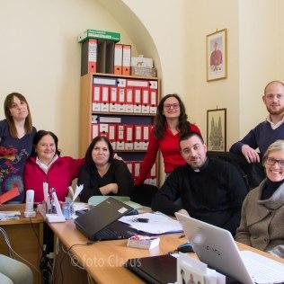 L'équipe della Caritas diocesana