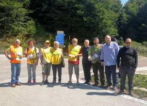 Volontari sul Matese