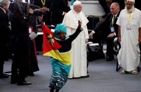 Papa Francesco in Mozambico