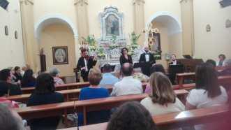 Il concerto della corale Cantate Domino nel Santuario della Madonan della Grazia