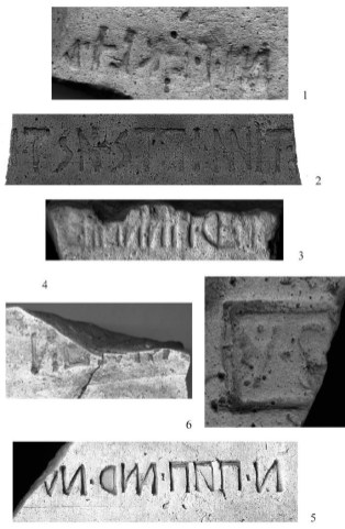 Iscrizione di origine osca rinvenute a Capo di Campo