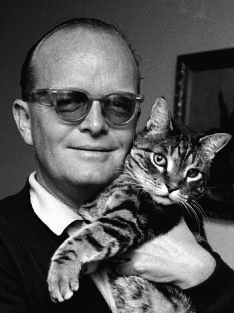 Escritores-y-sus-gatos-Truman-Capote