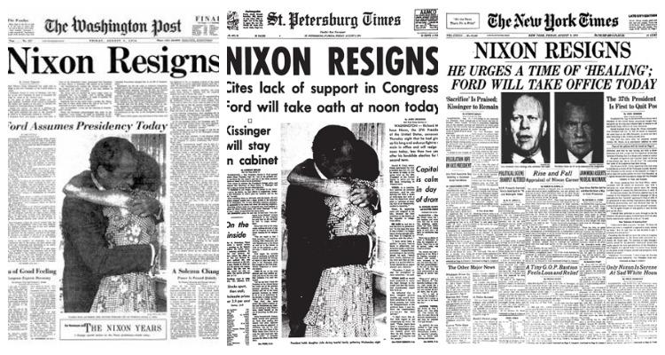 Resultado de imagen de La carta de Richard Nixon