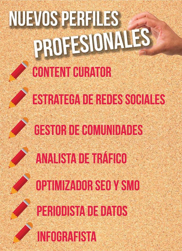Nuevos perfiles profesionales