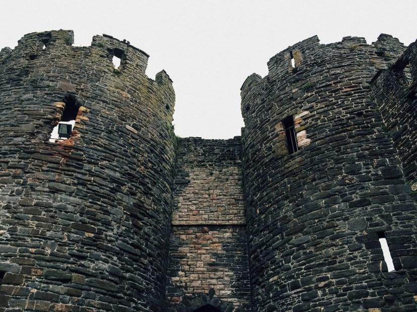 North Wales Conwy Castle